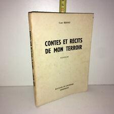 Gaby Heidet CONTES ET RECITS DE MON TERROIR Nouvelles 1960 BELFORT - ZZ-5697