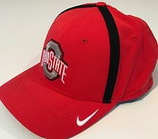 NEW Ohio State Buckeyes OSU Nike Vapor Coach Hat OSFM DRI-FIT Cap Red