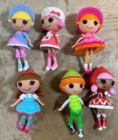 Lalaloopsy Mini Dolls Lot Of 6 Fairy Tale Dolls