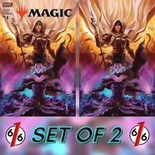 🚨💥 MAGIC THE GATHERING #1 DAVE RAPOZA Variant Set of 2 Trade & Virgin NM