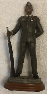 """Handcrafted Vanmark American Heroes """"Color Guard"""" 1/1578 Limited Edition Figure"""