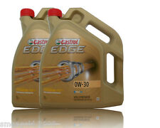 Castrol Edge FST 0W 30 Titanium Motoröl  2x5  Liter   BMW LL04, Dexos2 , ACEA C3