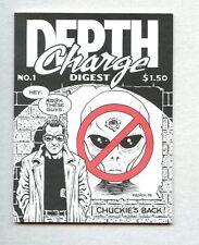 Depth Charge Digest #1-1998 nm  mini-comic Chris Kalnick / Non