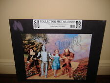 Wizard of Oz- Metal Sign: Lithographed metal Steel Sign- by Metal Images