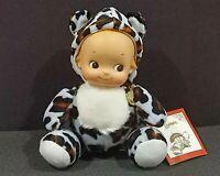 "Tokyo Mimore Rose O'Neill Kewpie Cheetah Costume Vinyl Figure Plush Toy TAG 6.5"""