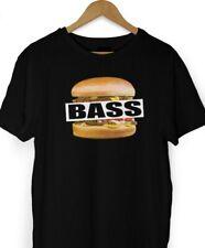 """BASS"" Serial Killer Vintage Inspired T Shirt New Viral Punk GRIME DUB S -- XXXL"