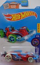 2016 Hot Wheels Hw Glow Wheels 6/10 Wattzup 51/250 (Red/Blue Version)
