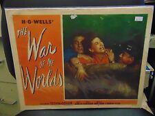 "Gene Barry The War Of The Worlds Original 11x14"" Lobby Card #L8602"