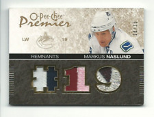 2007-08 OPC Premier Remnants Triples Patches Markus Naslund Jersey 18/35 - NM-MT