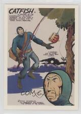 1994 Comic Images Jack Kirby: The Unpublished Archives #56 Catfish Card 1s8