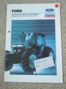 @Ford 70 Series Tractor Brochure (In Spanish)@