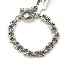 "New King Baby Studio Sterling S Link Toggle Bracelet 9.75"" NWT"