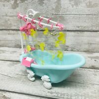 """Vintage 1989 MLP My Little Pony """"Scrub-a-dub-Tub"""" Bathtub Playset Accessories"""