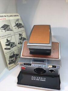 Polaroid SX 70 Land Camera with Manual