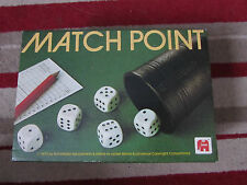 1978 JUMBO GAMES MATCH POINT GAME (SAME AS YAHTZEE) 100% COMPLETE