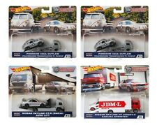 2019 Hot Wheels Car Culture Team Transport Case E Set of 4, 1/64 Cars FLF56-956E