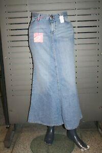Mavi Jeans Skirt Camilla 13819-123 Lghttropic Stone Blue Washed New