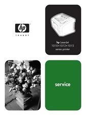 HP Laserjet 1010 / 1012 / 1015 / 1020 Printer Service Manual(Parts & Diagrams)