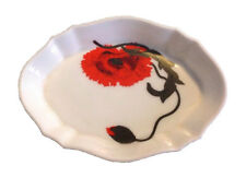 WEDGWOOD Corn Poppy Small Tray Susie Cooper Design Porcelain Bone China