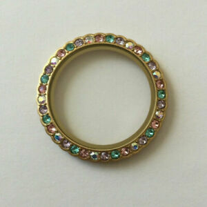 """Origami Owl Large (Gold) """"Be Colorful"""" Trolls Locket Face"""