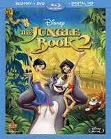 Disney's The Jungle Book 2 II  2-Disc Blu-Ray + DVD NO DIGITAL COPY NEW! NO SEAL