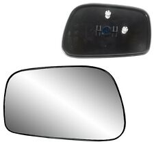 2003-2008 Toyota Corolla Matrix Driver Side Power Mirror Glass w/ Backing Plate