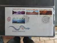 AUSTRALIA 1996 CULTURAL HERITAGE SET 4 STAMPS FDC FIRST DAY COVER
