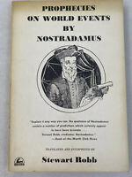 1961 Prophecies Of World Events Nostradamus Steeart Robb Paperback P8