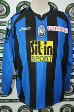 maglia calcio ATALANTA CARROZZIERI MATCH WORN shirt maillot trikot camiseta