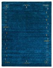 Tapis bleu rectangulaire pour la maison, 300 cm x 400 cm
