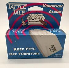 Tattle Tale Pet Alarm Behavior Trainer Dog Cat Sonic Vibration Aid New Free Ship