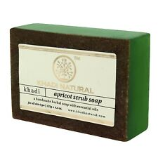 Khadi Herbal Apricot Scrub Soap For All Skin Type Set Of 2 - 125 gm