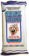 International Veterinary Sciences Quick Bath Wipes Large 10 Pack