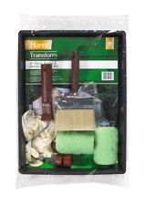 Harris Transform Shed Fence and Decking Paint Roller & Brush Kit Set
