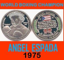 ANGEL ESPADA Campeon Boxeo PUERTO RICO Boxing 1/100 Llimited Edition SALINAS