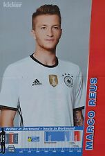 MARCO REUS - A3 Poster (ca. 42 x 28 cm) - Fußball EM 2016 Clippings Sammlung NEU