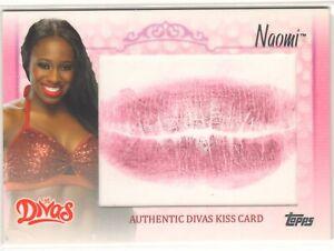 2013 WWE NAOMI - DIVAS KISS CARD - ULTRA RARE - 2013 TOPPS