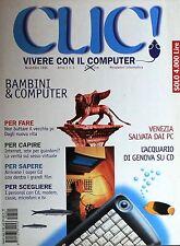 CLIC! Vivere con il computer  Novembre 1995  Anno 1 n.1