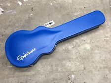 Epiphone Tommy Thayer Les Paul Signature Electric Guitar Hardshell Case Blue
