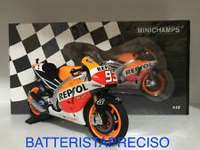 MINICHAMPS MARC MARQUEZ 1/12 2013 HONDA RC 213V WORLD CHAMPION 122131193 LIMITED