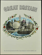 Stanley Gibbons 1960's Great Britain No.1 Print #V11351