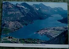 Vintage Color Photo Postcard, Waterton Lakes National Park, VERY GOOD COND