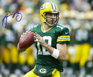 Aaron Rodgers 8x10 Autographed Signed Photo NFL GB Green Bay Packers HOF REPRINT