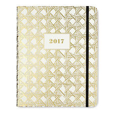KATE SPADE - LAST 4 SALE!!! -  Agenda Planner - 2017 -  Gold Caning - Medium