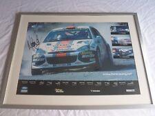 Rare Original Signed Colin McRae & Nicky Grist WRC Ford Focus Poster