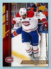 P. K. SUBBAN 2015/16 UPPER DECK HIGH GLOSS PARALLEL /10