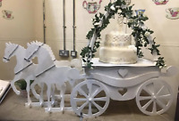 Y219 Donut Doughnut Wall Stand Party WEDDING CAKE CARRIAGE HORSE PRINCESS XL