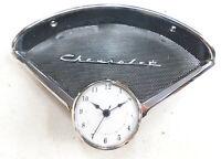 1955 1956 chevy belair 210 150  speaker bezel  chevrolet emblem & new clock #4