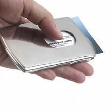 Box Men Case Business Thumb Out Stainless Steel Pocket ID Card Case Card Case