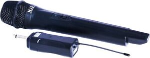 NEW JERSEY NJS250 UHF 864.7 MHZ WIRELESS HANDHELD MICROPHONE WITH RECEIVER